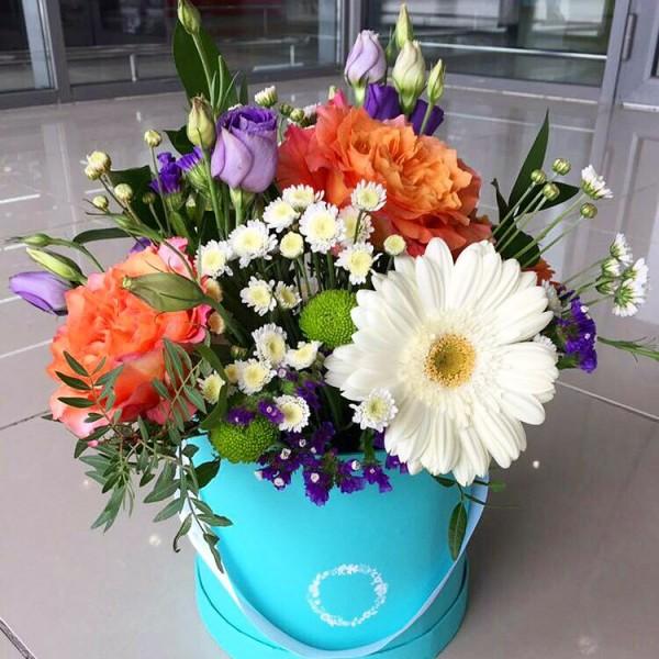 цветы в коробке3