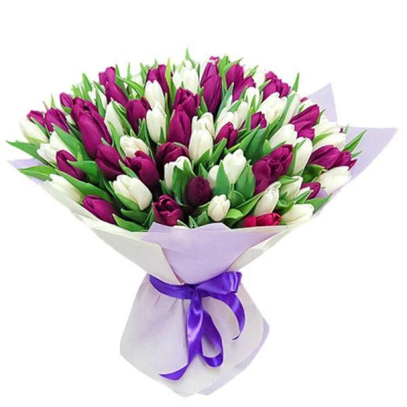dostavka fioletovyh tjul'panov v astane