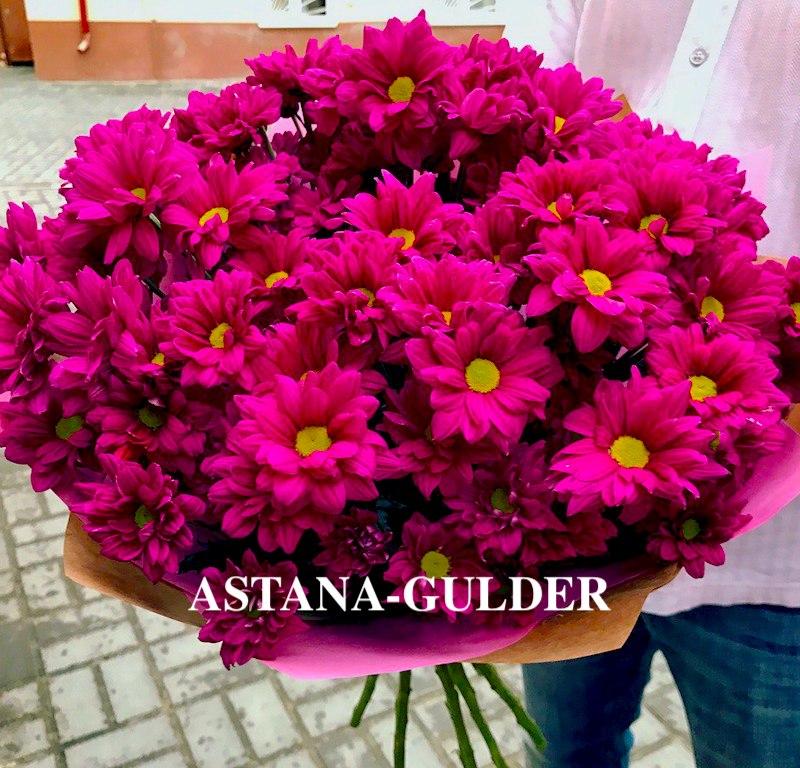 хризантемы доставка по всей астане АSTANA-GULDER