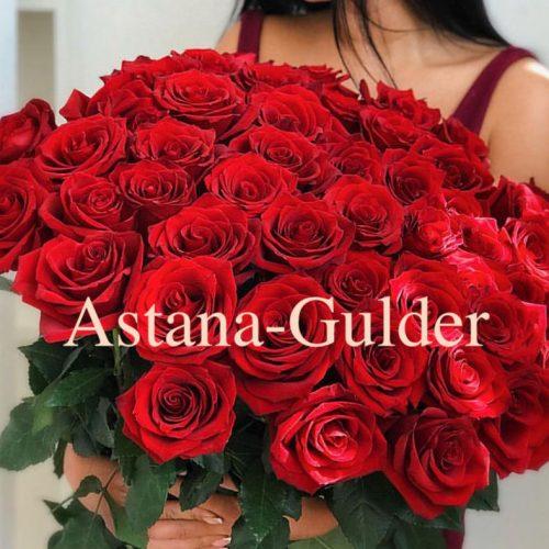 zakazat' rozy s dostavkoj v Astane
