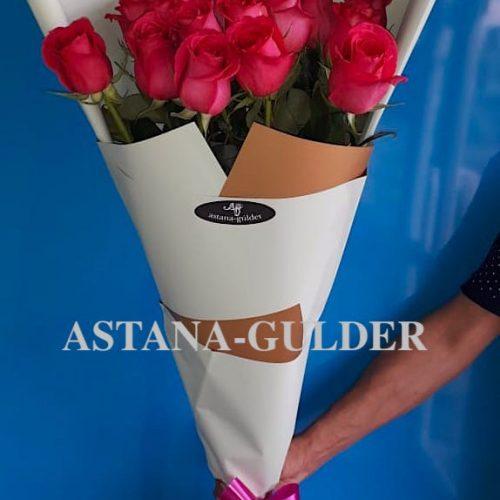 zakazat' buket roz v astane s dostavkoj